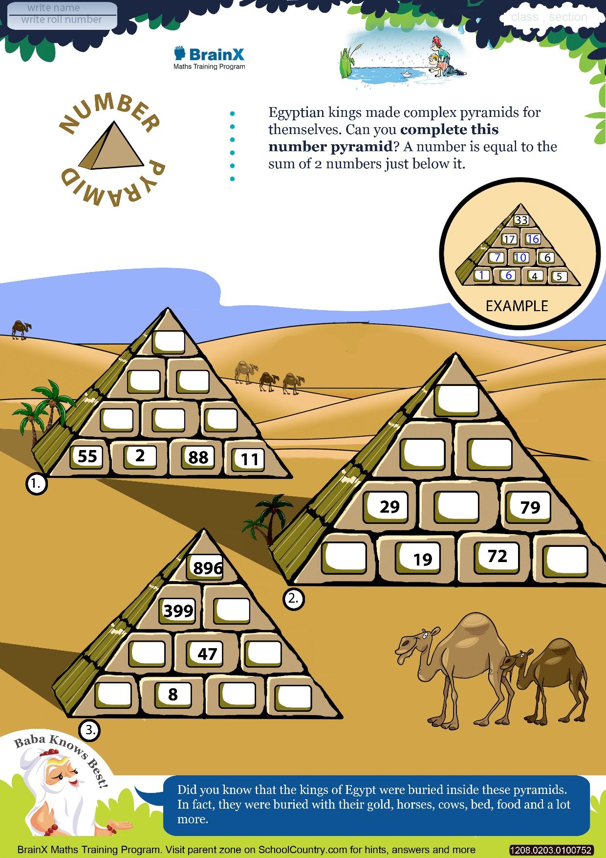 Uncategorized Math Pyramid Worksheet printable subtraction math olympiad worksheets for kids of grade 2 number pyramid
